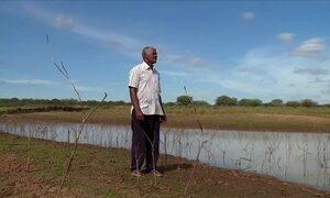 Agricultores do sertão de Pernambuco sofrem com a seca