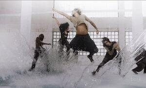 Abertura do Fantástico resgata o balé, inspirado nos elementos da natureza