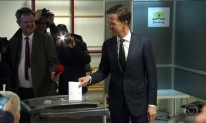 Holandeses rejeitam extrema-direita em eleição parlamentar por 81%