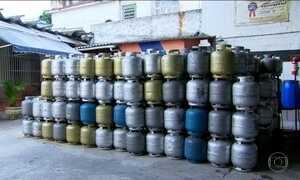 Gás de cozinha aumenta quase 10% nas refinarias