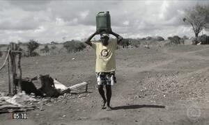 Moradores enfrentam a pior seca em 100 anos em municípios da BA