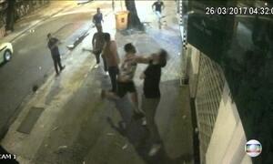 Imagens exclusivas mostram agressão a um turista argentino no RJ