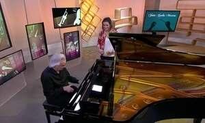 O pianista e maestro solidário