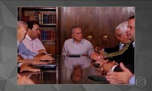 Temer reúne ministros e líderes do Congresso para discutir Previdência