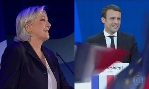 Vencedores do primeiro turno na França já estão em campanha
