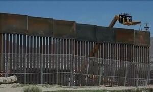 Estados Unidos adiam construção do muro na fronteira com México