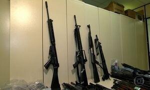 Apreensão de armas no Rio encontra fuzil que pode matar a um quilômetro