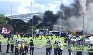 Temer aciona Forças Armadas após vandalismo em protesto em Brasília