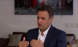 Rodrigo Janot diz que há provas de que Aécio Neves cometeu crimes