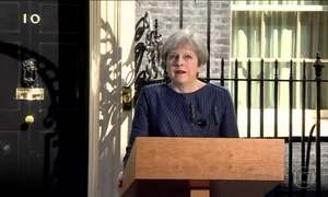 Theresa May perde maioria conservadora no Parlamento britânico