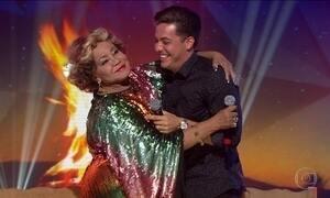 Arraiá do Fantástico: Alcione e Wesley Safadão cantam 'Eu só quero um xodó'