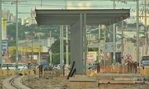 Obra do VLT ainda não está pronta em Cuiabá três anos após a Copa