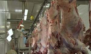 Governo brasileiro reage à suspensão da importação de carne brasileira