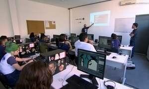 Curso de animação para estudantes de escola pública