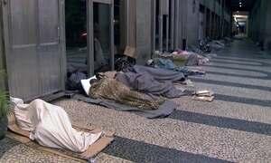 Cresce o número de moradores de rua em São Paulo e no Rio de Janeiro