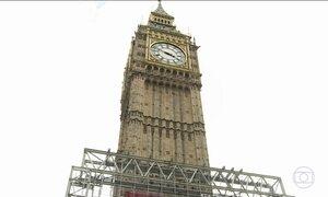 Big Ben vai ficar três anos em silêncio: obra deixa o sino mudo