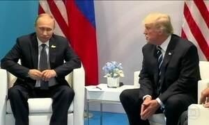 Reunião secreta de Trump com Putin no G20 agita política americana