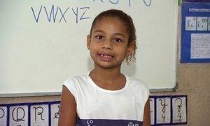 Escolas usam letra bastão no processo de alfabetização