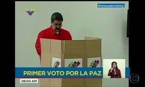 Maduro elege Constituinte e comunidade internacional reage