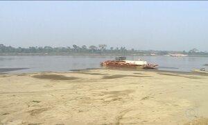 Rondônia não tem chuva há 60 dias e estiagem afeta o Rio Madeira