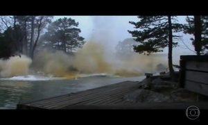 Vídeo mostra rio que ferve após queda de raio; verdadeiro ou falso?