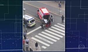 Na Finlândia, homem com faca mata dois e deixa seis feridos