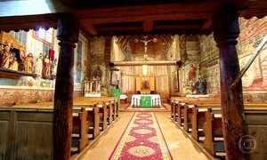 Centenárias Igrejas de madeira da Eslováquia são patrimônio mundial