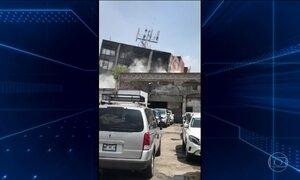 Terremoto deixa destruição e mais de cem mortos no México