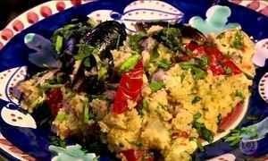 Ingredientes da Sicília dão identidade ao cuscuz trapanese