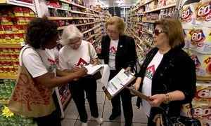 Movimento das Donas de Casa de MG orienta consumidores sobre economia