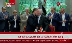 Hamas e Fatah assinam acordo histórico