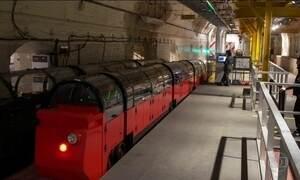 Museu de Londres mostra trem que transportava exclusivamente cartas