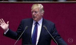 Trump manda recado para ditador da Coreia do Norte: 'Não nos provoque'