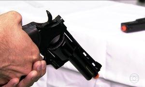 Polícia registra 201 crimes com armas de brinquedo em São Paulo este ano