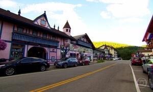 Cidade alemã é recriada no meio das montanhas de Washington