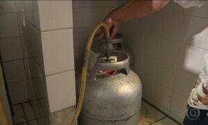 Vinculado ao preço internacional, gás de cozinha fica 68% mais caro