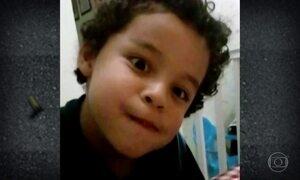 Bala perdida que matou menino no Ano Novo em SP veio de cima