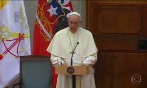 Em visita ao Chile, Papa Francisco pede perdão por pedofilia na Igreja