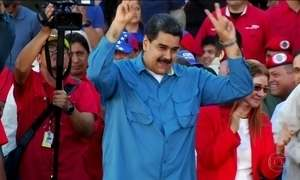 Votação na Venezuela é antecipada; Maduro é candidato à reeleição