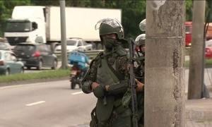 Forças Armadas e polícias fazem operação conjunta em favelas do Rio