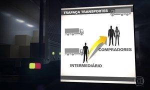 Assaltantes contam com a ajuda de caminhoneiros para roubar cargas