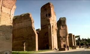 Conheça a era Caracalla, as termas luxuosas do Império Romano
