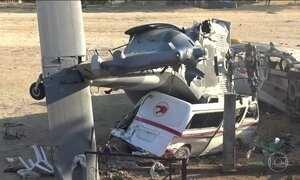 Acidente com helicóptero mata 14 pessoas no México