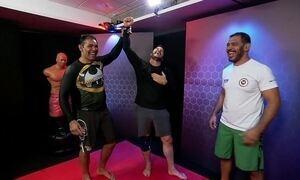 Fantástico põe Chris Pratt para treinar jiu-jitsu com Minotouro e Minotauro