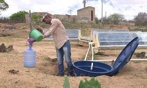 Mecanismo retira sal da água com radiação solar