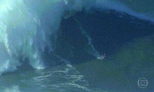 Nazaré: ondas gigantes mudam a vida na pequena cidade