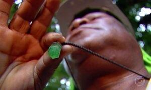 'Cidade das esmeraldas' ganha fama pelo que guarda debaixo das terras