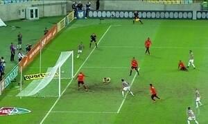 Gols do Fantástico: Atlético-MG segue líder após empate do Corinthians