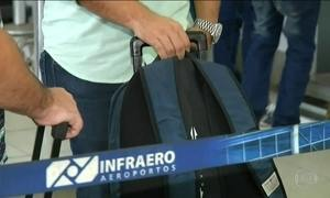 Aeroportos ainda têm dificuldade no abastecimento de aviões