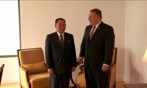 Braço-direito de Kim Jong-un tem reunião nos EUA com Mike Pompeo